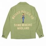 POLICE SQ – L/S WORK SHIRTS / GREENの商品画像