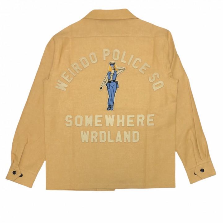 POLICE SQ – L/S WORK SHIRTS / MUSTARDの商品画像2