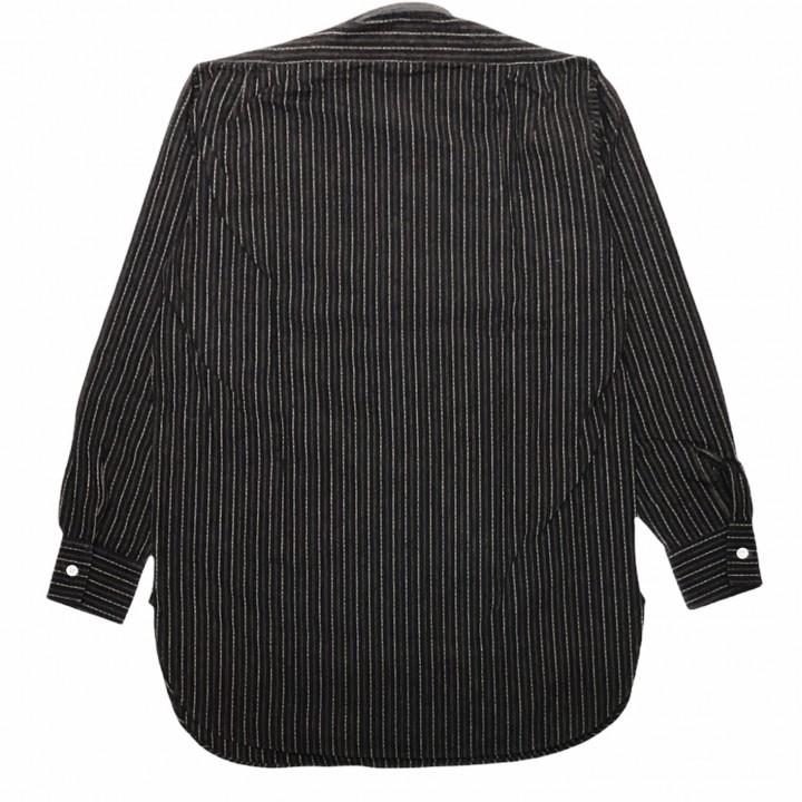 COLLEGIATE – L/S PULLOVER SHIRTS / BLACKの商品画像2