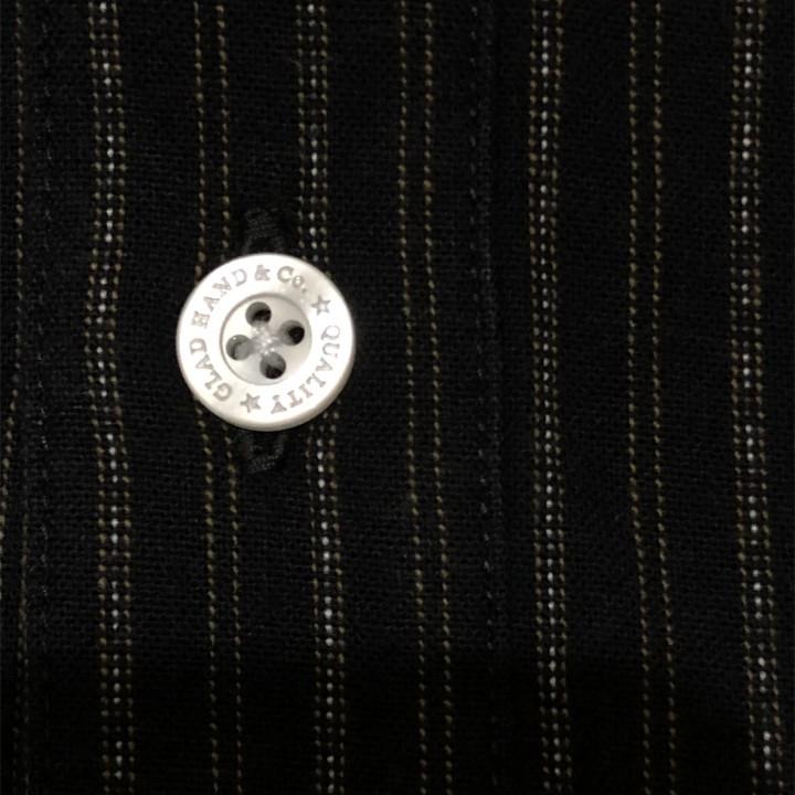 COLLEGIATE – L/S PULLOVER SHIRTS / BLACKの商品画像5