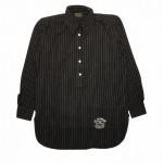 COLLEGIATE – L/S PULLOVER SHIRTS / BLACKの商品画像