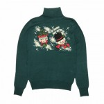 CHRISTMAS SNOWMAN – TURTLE NECK SWEATERの商品画像